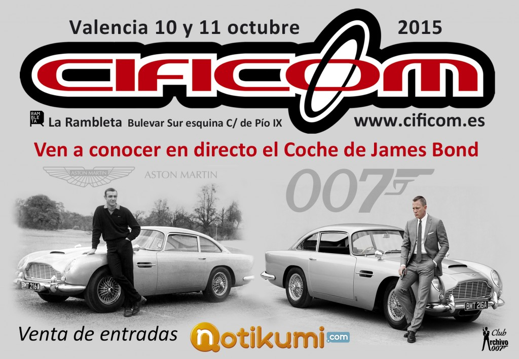 PUBLI - Aston-Martin-DB5 James Bond CIFICOM