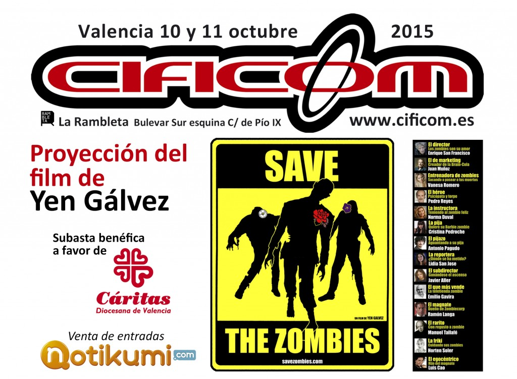 PUBLI -Save the Zombi CIFICOM